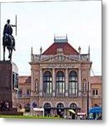 Central Railway Station Zagreb Metal Print