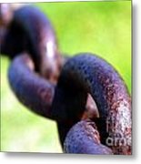 Chain Metal Print