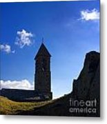 Chapel. Auvergne. France Metal Print by Bernard Jaubert