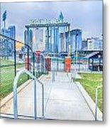 Charlotte Ballpark Metal Print
