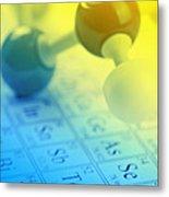 Chemistry Concept Metal Print