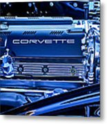 Chevrolet Corvette Engine Metal Print