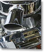Chevrolet Engine Metal Print