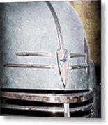 Chevrolet Hood Emblem - Grille Emblem Metal Print