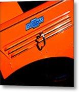 Chevrolet Hood Metal Print