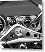 Chevrolet Impala Steering Wheel Metal Print