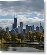 Chicago Lincoln Park Metal Print