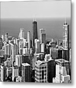 Chicago - That Famous Skyline Metal Print