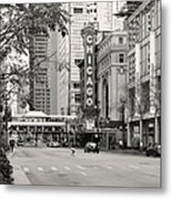Chicago Theatre - French Baroque Out Of A Movie Metal Print