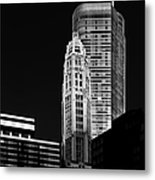 Chicago - Trump International Hotel And Tower Metal Print