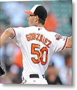 Chicago White Sox V Baltimore Orioles Metal Print