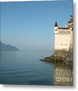 Chillon Castle Metal Print