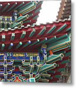 Chinese Architecture Metal Print