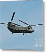 Chinook Hc2 Helicopter Metal Print