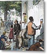 Cholera Epidemic, 1873 Metal Print