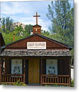 Christ Fellowship Wofford Heights Metal Print