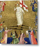Christ Glorified In The Court Of Heaven Metal Print