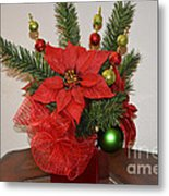 Christmas Centerpiece Metal Print