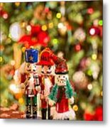 Christmas Figures Metal Print