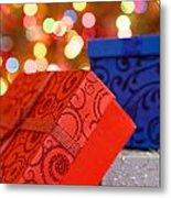 Christmas Gifts Metal Print