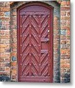 Church Door 02 Metal Print by Antony McAulay