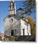 Church In Cetinje Montenegro Metal Print