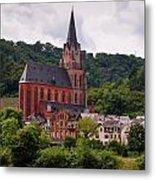 Church Of Our Lady  Oberwesel Am Rhein Metal Print