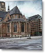 Church Of St Lawrence In Rotterdam Metal Print