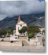 Church Of St.mark Makarska Metal Print