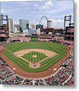 Cincinnati Reds V. St. Louis Cardinals Metal Print