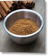Cinnamon Spice Metal Print