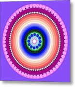 Circle Motif 224 Metal Print