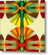 Circle Pattern 2 Metal Print