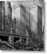 City - Chicago Il - Continuing A Legacy Metal Print