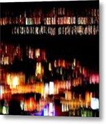 City Lights Metal Print by Mamie Gunning