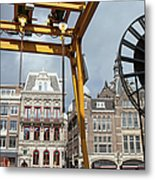 City Of Amsterdam Urban Scenery Metal Print