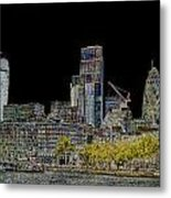 City Of London Art Metal Print