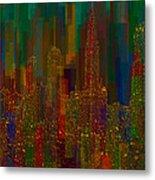 Cityscape 5 Metal Print by Jack Zulli