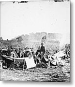Civil War: Wounded, 1862 Metal Print