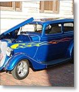 Classic Custom Car Metal Print
