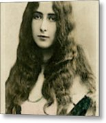 Cleo De Merode (1875 - 1966), French Metal Print