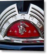 Close-up Of A Mercury Classic Car Of Metal Print