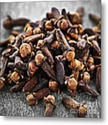 Cloves Metal Print