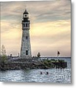 Coastguard Lighthouse Metal Print