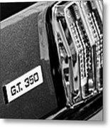 Cobra Gt 350 Taillight Emblem Metal Print