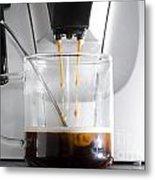 Coffee Machine Metal Print