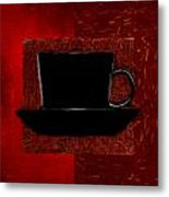 Coffee Passion Metal Print
