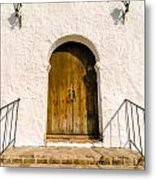 Colonial Door Metal Print