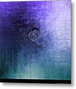 Color Sensation Blue Metal Print