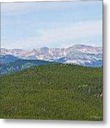 Colorado Continental Divide 5 Part Panorama 1  Metal Print
